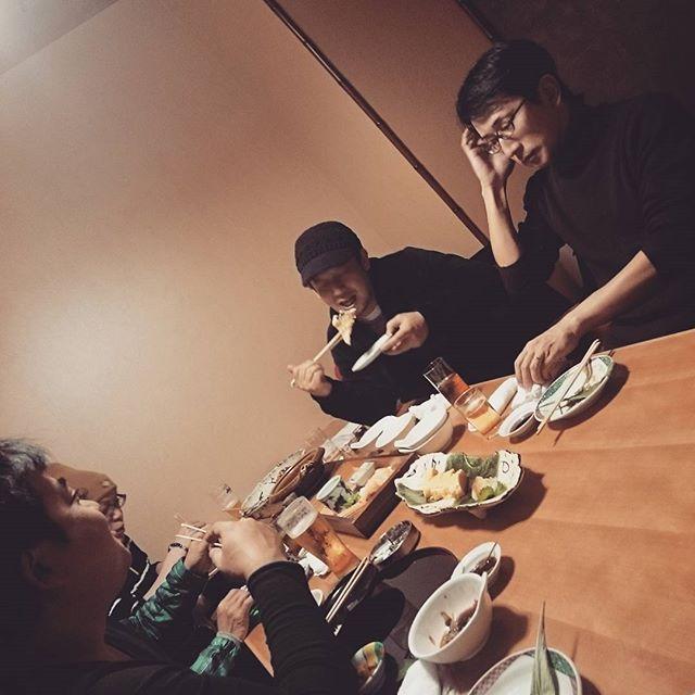 本日は、協力会社定例会 #晩飯 #ショクジ #飲ミ会 - from Instagram