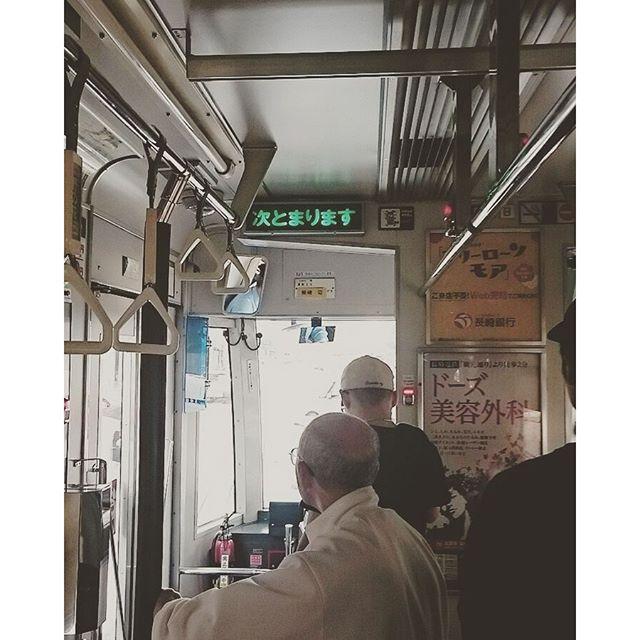 路面電車 乗り中 - from Instagram