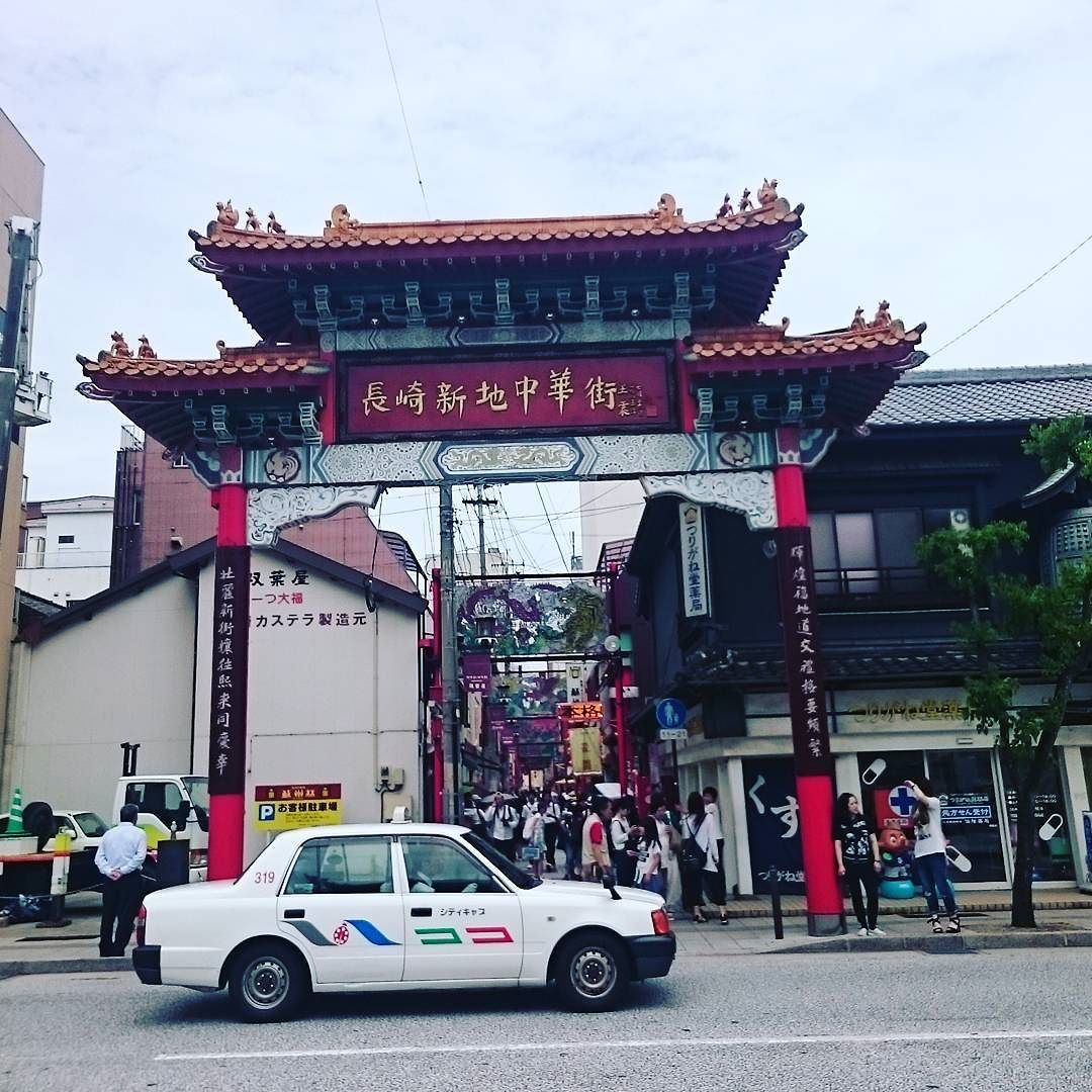 本日、昼飯は長崎市内、中華街
