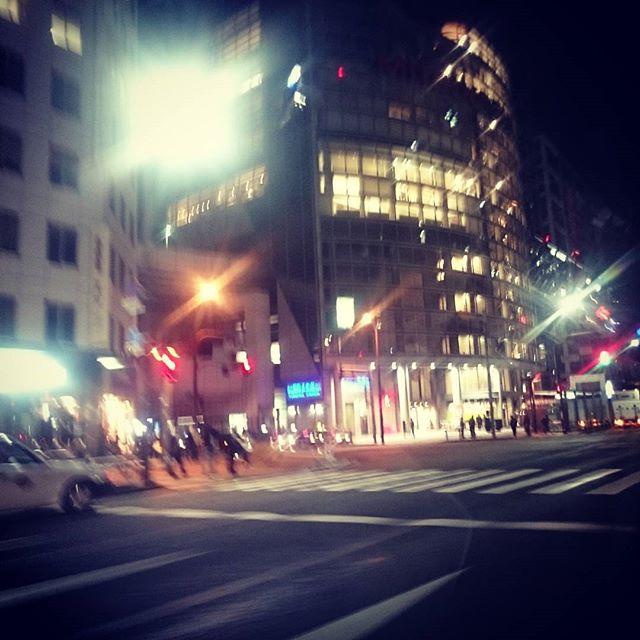 11月というのに、街は寂しいなあ - from Instagram