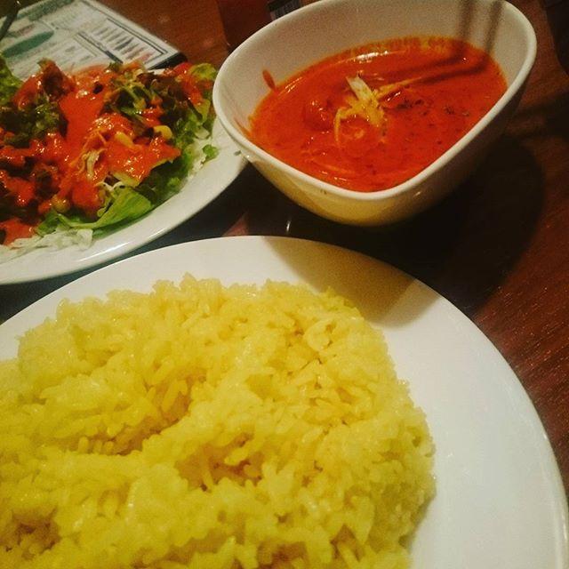 今日は寒いし、亞橋でカレー食べることにした - from Instagram