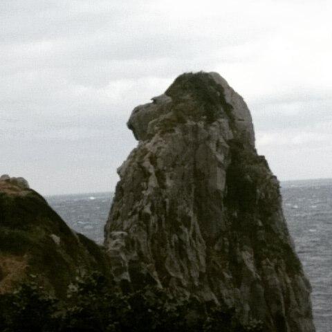 壱岐にいってきました。猿岩。とりかく寒かった - from Instagram